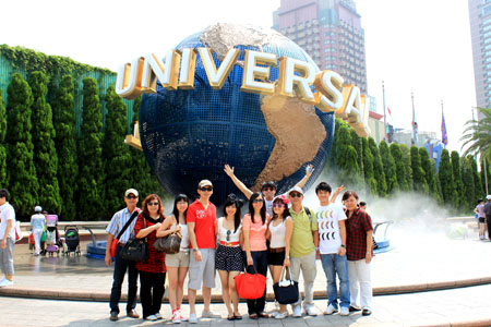 Big Family Trip at Universal Studios Japan